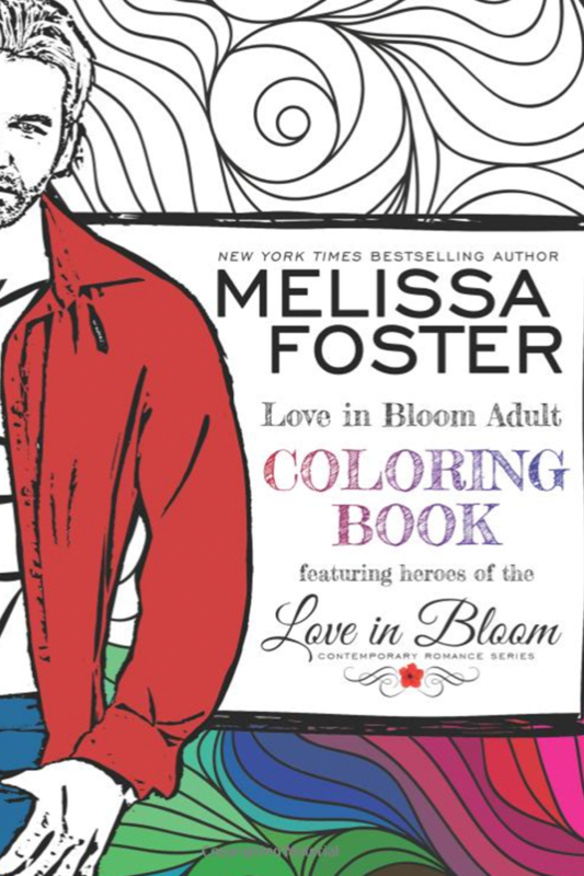 Love in Bloom Adult Coloring Book