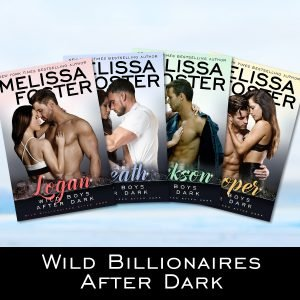 Wild Boys After Dark series collection by Melissa Foster