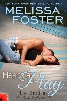 HEARTS AT PLAY (The Bradens, Book Six: Love in Bloom, Book #9)