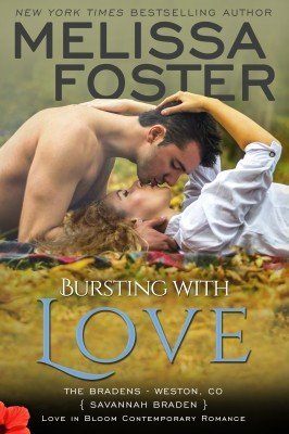 BURSTING WITH LOVE (The Bradens, Book Five)