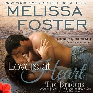 Lovers At Heart (Original Edition) (The Bradens) AUDIOBOOK narrated by B.J. Harrison