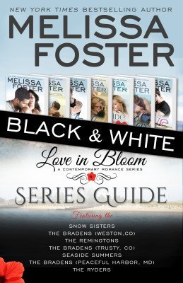Love in Bloom Series Guide (Black and White Edition)