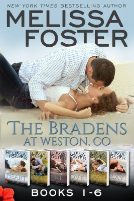 The Bradens at Weston, CO (Books 1-6 Boxed Set)