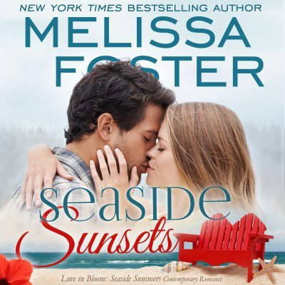 Seaside Sunsets (Seaside Summers, Book Three) AUDIOBOOK narrated by B.J. Harrison