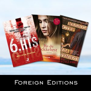 Foreign Editions of books by Melissa Foster