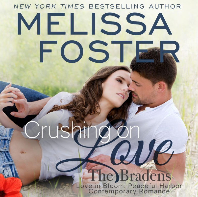 Crushing on Love (The Bradens at Peaceful Harbor) AUDIOBOOK narrated by B.J. Harrison