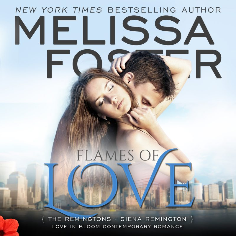 Flames of Love (The Remingtons, Book Three) AUDIOBOOK narrated by B.J. Harrison