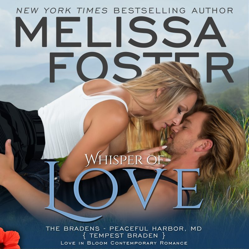 Whisper of Love (The Bradens at Peaceful Harbor) AUDIOBOOK narrated by B.J. Harrison
