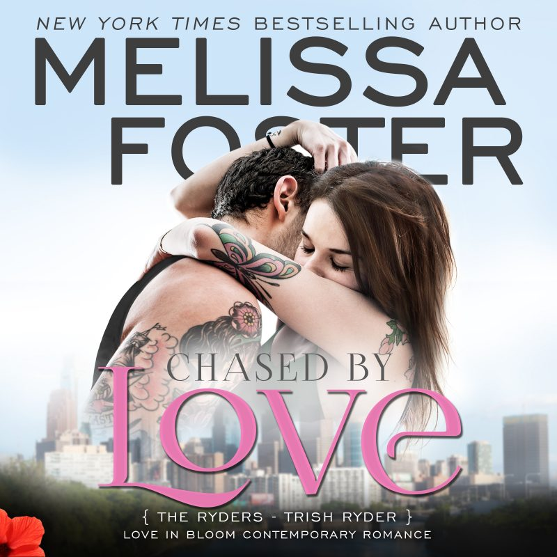 Chased by Love (The Ryders, Book Three) AUDIOBOOK narrated by B.J. Harrison