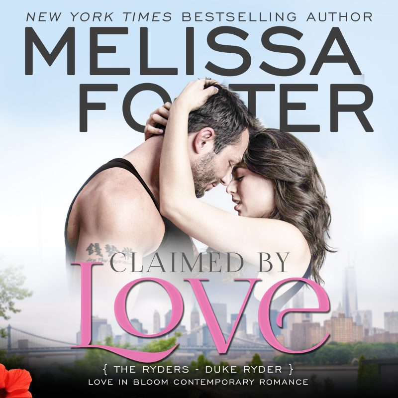 Claimed by Love (The Ryders, Book Two) AUDIOBOOK narrated by B.J. Harrison