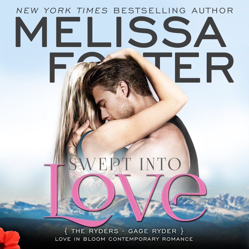 Swept Into Love (The Ryders, Book Five) AUDIOBOOK narrated by B.J. Harrison
