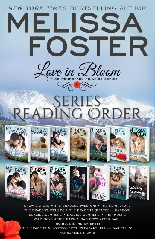 Love in Bloom Series Reading Order – FREE