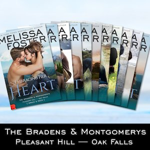 The Bradens at Pleasant Hill series collection by Melissa Foster