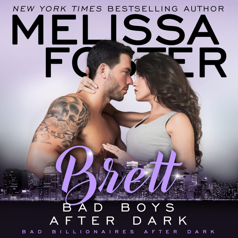 Bad Boys After Dark: Brett (Billionaires After Dark, Book Four) AUDIOBOOK narrated by Paul Woodson