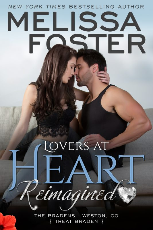 LOVERS AT HEART, REIMAGINED (The Bradens, Book One)