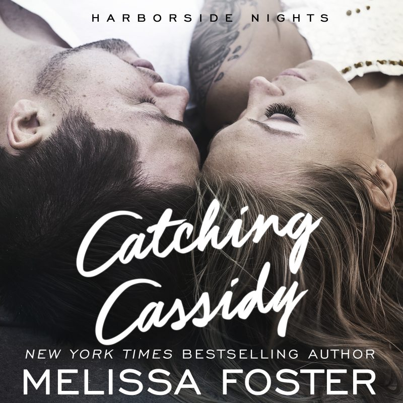 Catching Cassidy (Harborside Nights, Book One) AUDIOBOOK narrated by Virginia Rose and Teddy Hamilton