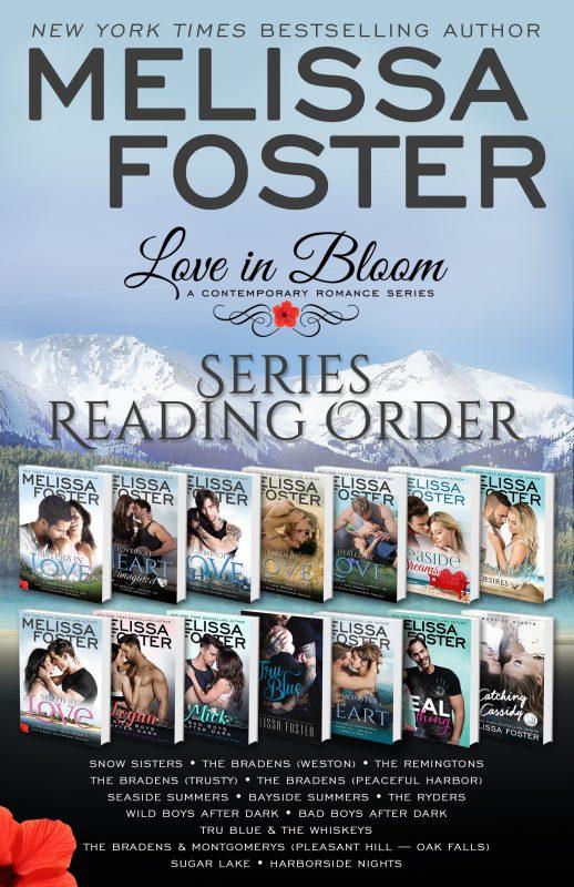 Love in Bloom Series Reading Order – FREE