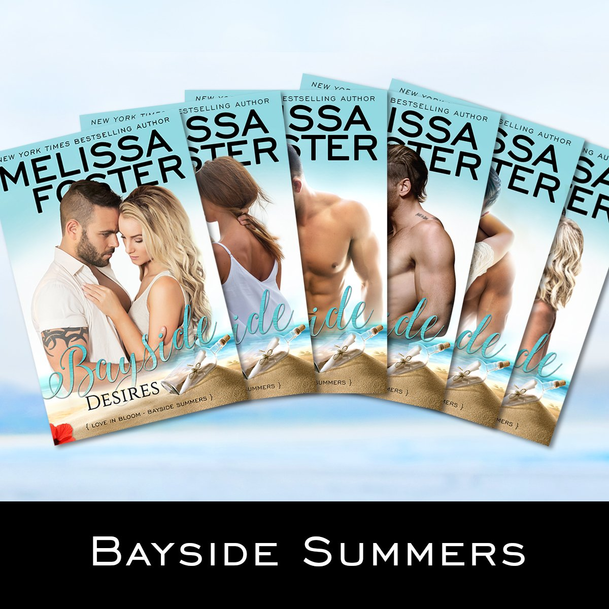 Bayside Summers series collection by Melissa Foster