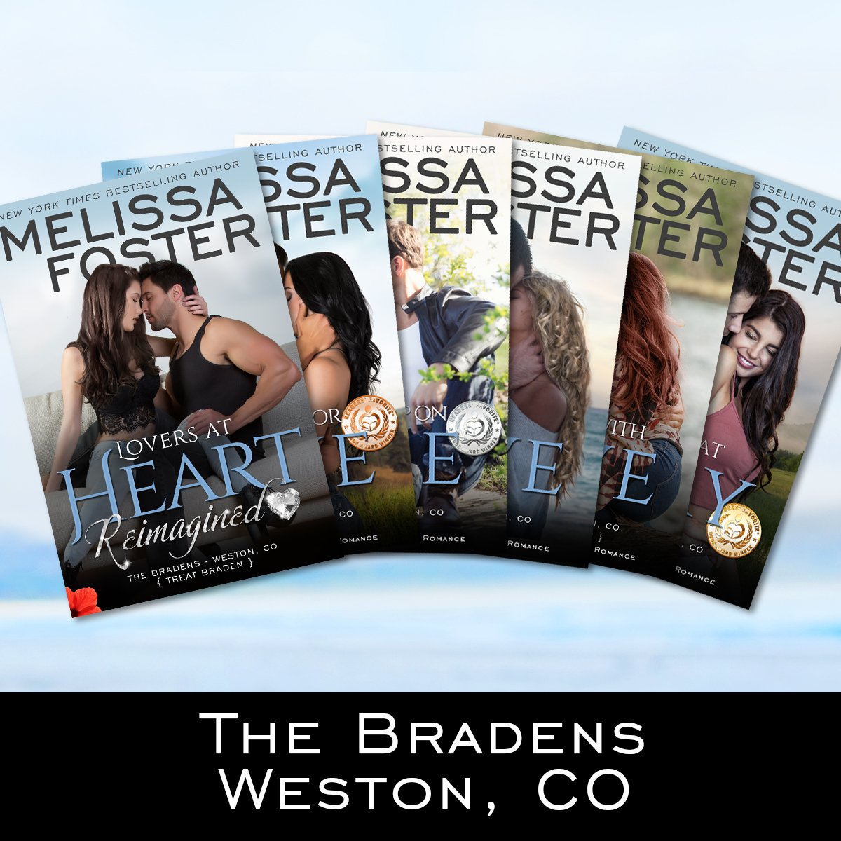 The Bradens at Weston, CO Series of books by Melissa Foster