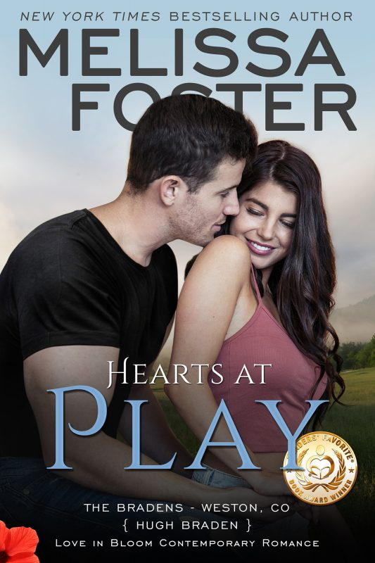 HEARTS AT PLAY (The Bradens, Book Six)