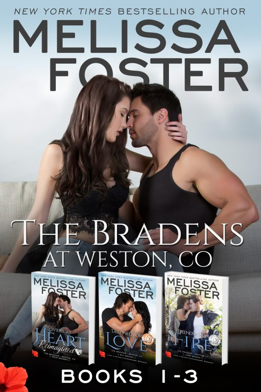 The Bradens at Weston (Books 1-3 Boxed Set)