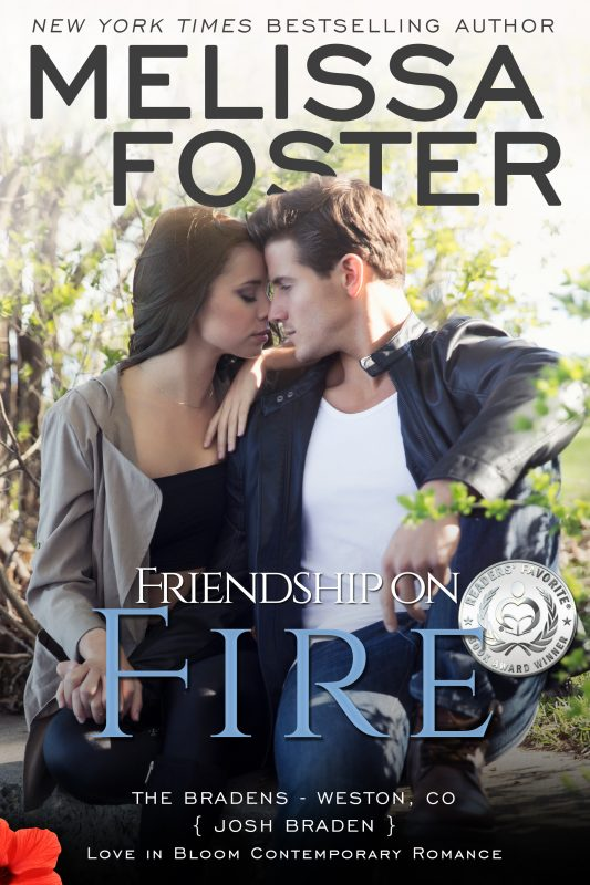 FRIENDSHIP ON FIRE (The Bradens, Book Three)