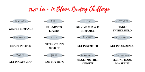 2020 Love in Bloom Reading Challenge