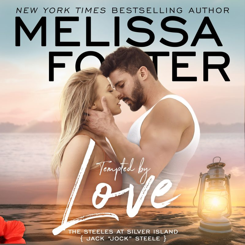 Tempted by Love (The Steeles at Silver Island) AUDIOBOOK narrated by Brian Pallino and Jennifer Mack
