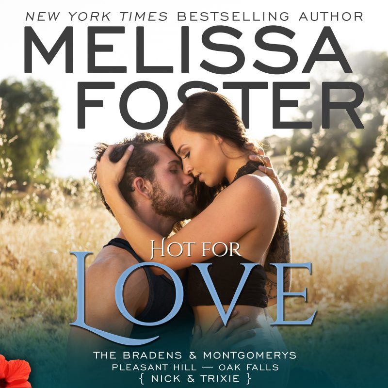 Hot For Love – The Bradens & Montgomerys (Pleasant Hill – Oak Falls) AUDIOBOOK, narrated by Savannah Peachwood and Aiden Snow
