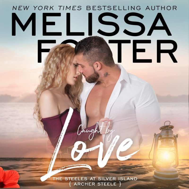 Caught by Love (The Steeles at Silver Island) AUDIOBOOK narrated by Aiden Snow and Andi Arndt