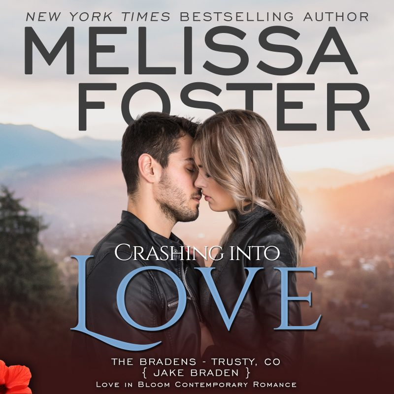 Crashing into Love (The Bradens at Trusty, CO) AUDIOBOOK narrated by B.J. Harrison