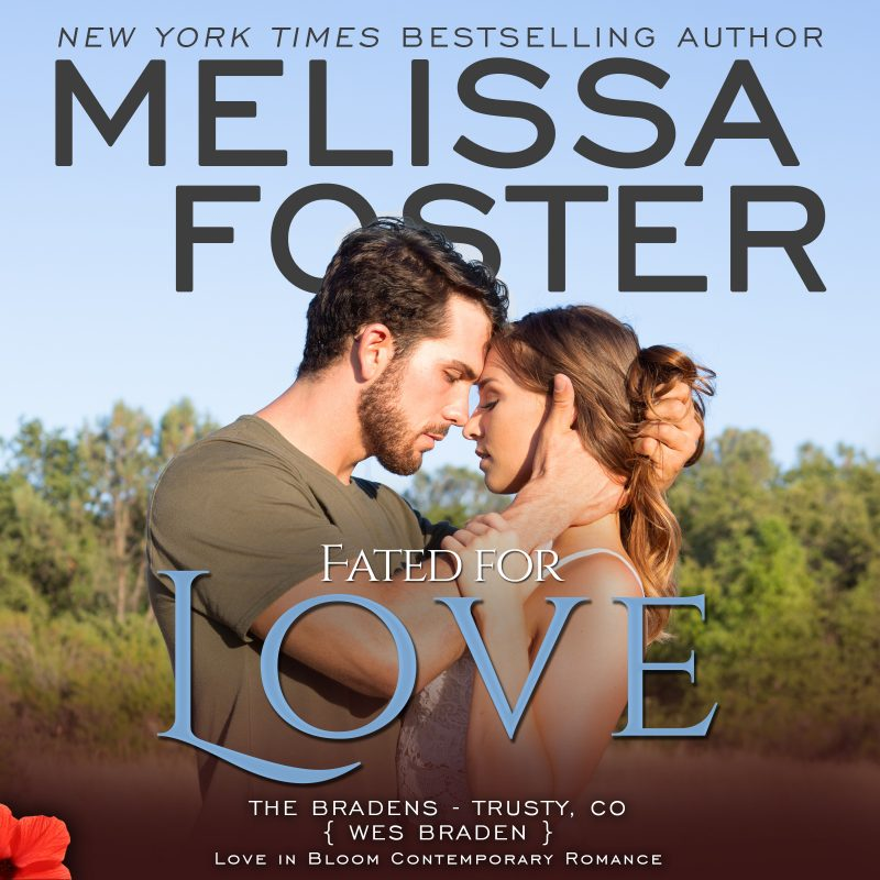 Fated for Love (The Bradens at Trusty, CO) AUDIOBOOK narrated by B.J. Harrison