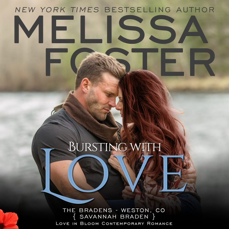 Bursting with Love (The Bradens, Book Five) AUDIOBOOK narrated by B.J. Harrison