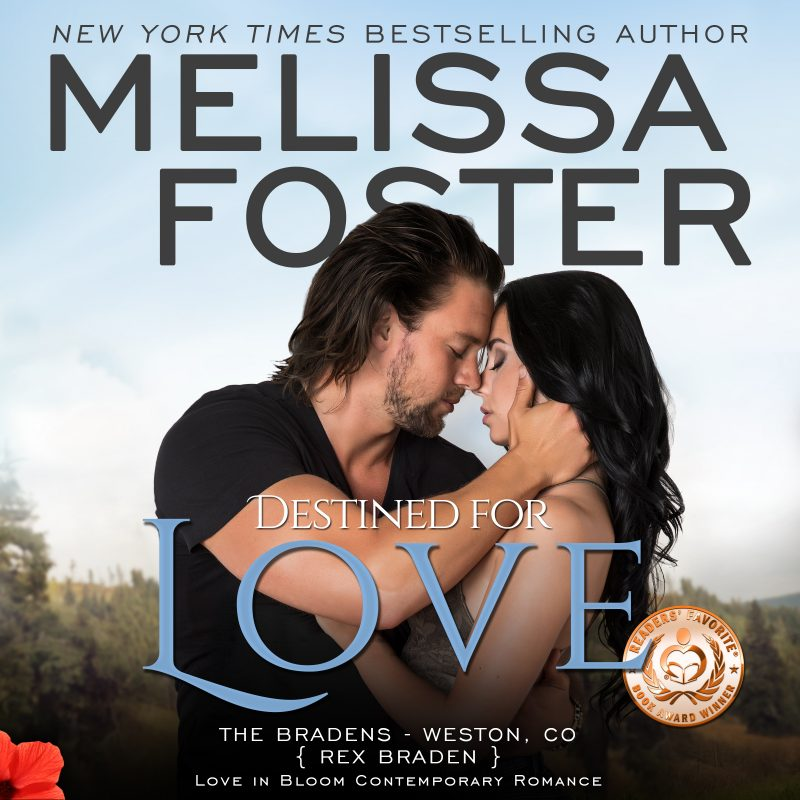 Destined for Love (The Bradens, Book Two) AUDIOBOOK narrated by B.J. Harrison