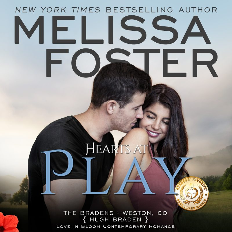 Hearts at Play (The Bradens, Book Six) AUDIOBOOK narrated by B.J. Harrison