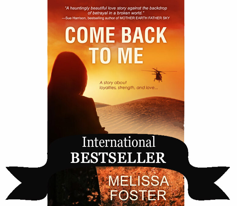 Book Club Queen interviews Melissa Foster, COME BACK TO ME