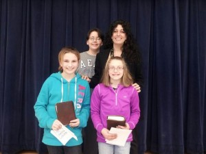 Williamsport Aspiring Authors Winners 2012
